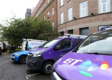23/07/20 - Fire at BT site in Newcastle causes broadband problems across the region.